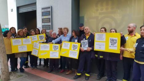 CSIF reclama el cobro de la subida salarial del 2% a los empleados públicos para los 701 trabajadores de Correos en Almería