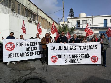 El próximo miércoles se incorpora a su puesto de trabajo el Secretario General de UGT-FICA Melilla tras la condena a Caldererías Indálicas, S.L. por el despido improcedente.