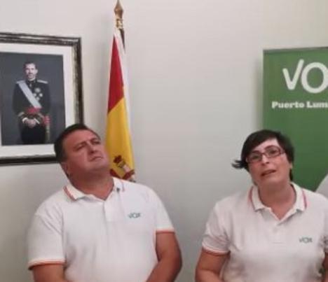 Tras el desencuentro entre PP y Vox en Puerto Lumbreras , el partido de Abascal amenaza con replantearse los actuales acuerdos con los populares en la región