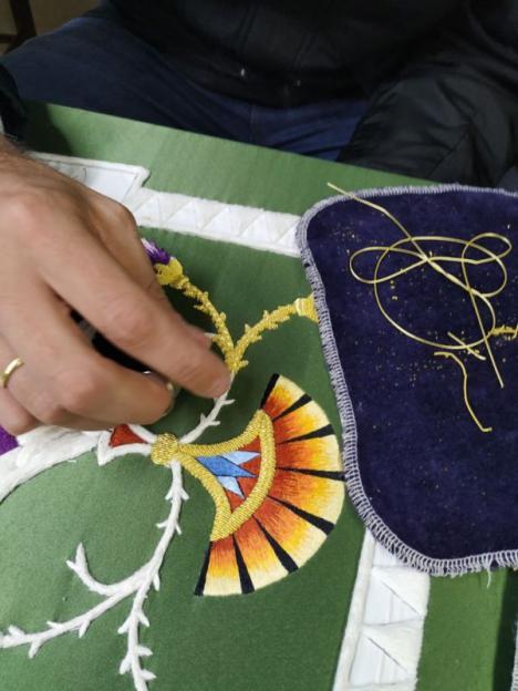 El Ayuntamiento de Lorca celebra la implantación de la Cualificación profesional 'Operaciones artesanales de bordado' que permitirá el reconocimiento de las bordadoras lorquinas