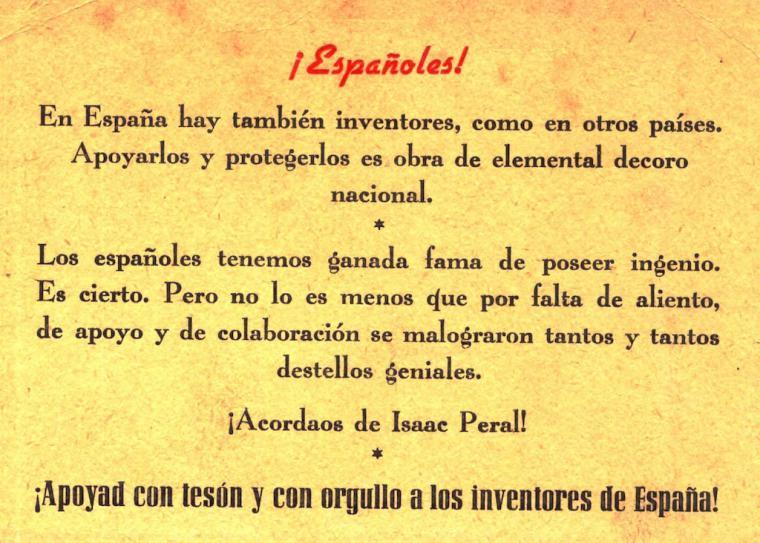 'Adictos al proyecto de Isaac Peral' por Diego Quevedo, Alférez de Navío (R)