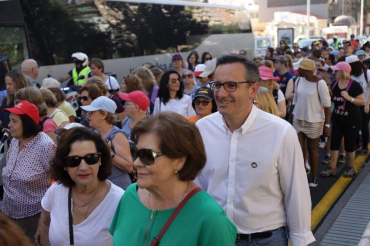 """Diego Conesa: """"Creemos en la igualdad real entre hombres y mujeres y vamos a trabajar desde el Gobierno regional para que sea efectiva"""""""