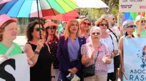 El PSOE muestra su total apoyo a la Red de Colectivos por los Derechos y Libertades fundamentales de la Región de Murcia