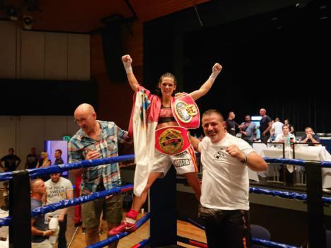 La lumbrerense Mari Carmen Romero se proclama campeona continental de boxeo