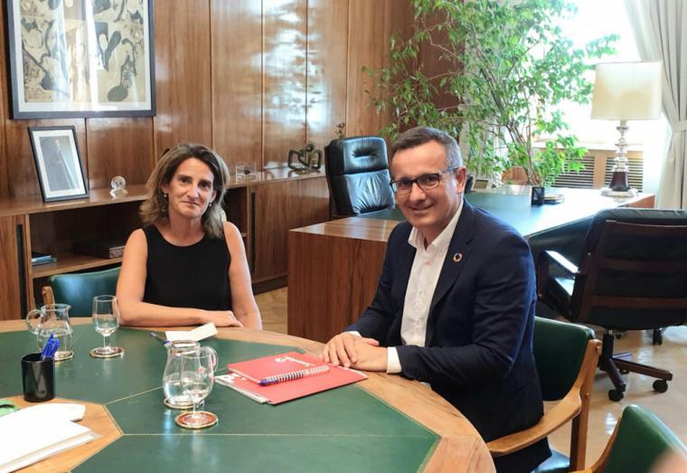 """Diego Conesa: """"Ya era hora de que algún dirigente del Gobierno regional reconociera que el PSOE nunca ha puesto en duda el trasvase"""""""