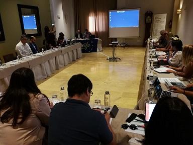 El Alcalde de Lorca inaugura la jornada Life Adaptate organizada con el objetivo de poner en común propuestas para reducir los efectos del cambio climático