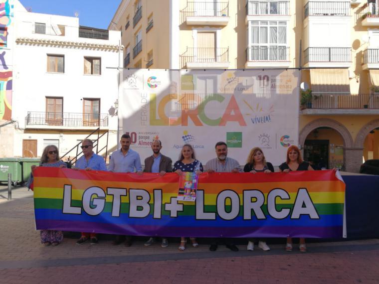 El I Encuentro LGTBIQ de Lorca tendrá lugar el próximo sábado 28 de septiembre en Lorca-Plaza