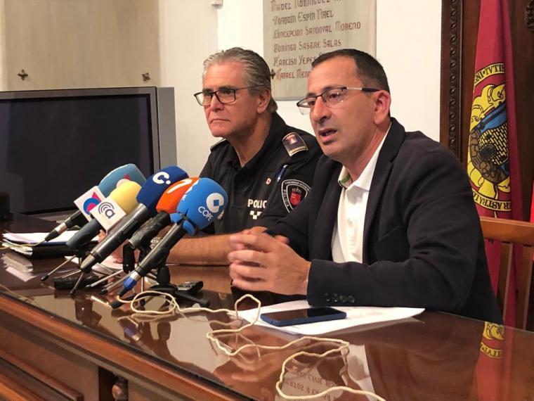 El dispositivo especial de seguridad puesto en marcha durante la Feria y Fiestas de Lorca cierra con un balance de actuaciones policiales mínimo