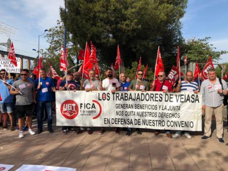 Una nueva denuncia de UGT-FICA obliga a rectificar a VEIASA