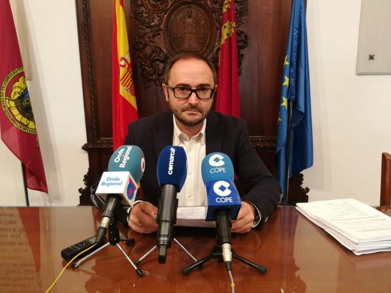 Los lorquinos se beneficiarán de una bajada generalizada de los impuestos municipales gracias al proyecto de Ordenanzas Fiscales de 2020