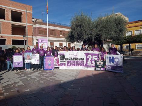 Puerto Lumbreras marcha contra la violencia de género