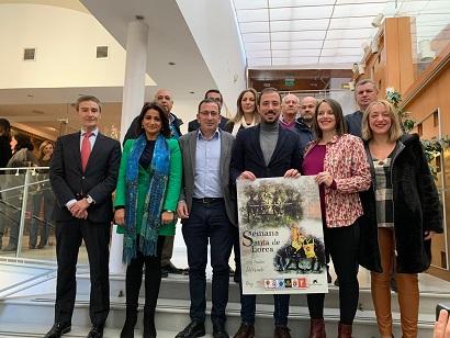 """La obra """"Pasión de Fuerza y Elegancia"""", de la diseñadora gráfica Carmen Muñoz Manchón, será el cartel promocional de la Semana Santa de Lorca 2020"""