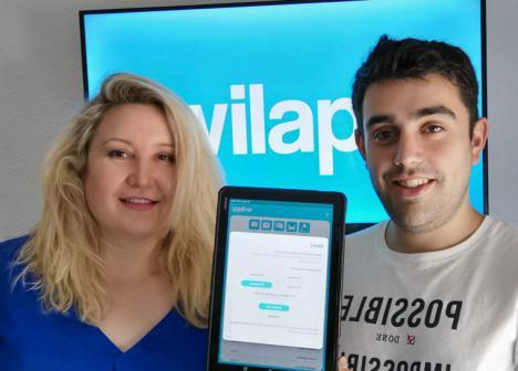 Puesta de largo ante el mundo de 'Wilapp' la startup almeriense en la Mobile World Congress