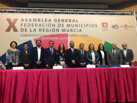 El alcalde de Lorca nuevo vicepresidente segundo de la Federación de Municipios de la Región de Murcia (FMRM)
