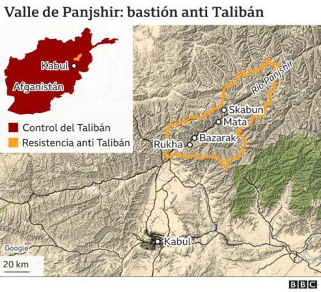 Los talibanes preparan una operación militar en la provincia de Panshir tras el fracaso de las negociaciones con Ahmad Masud