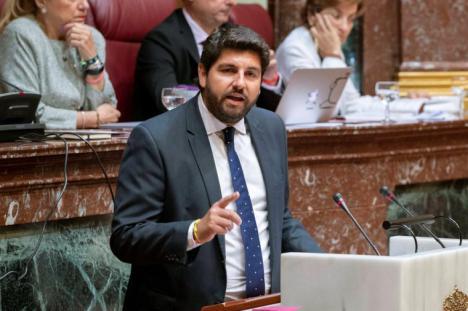 """Francisco Lucas: """"Es vergonzoso que López Miras se suba el sueldo con la deuda que su Gobierno ha generado en la Región de Murcia"""""""