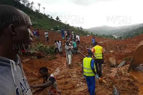 Luto en Sierra Leona.