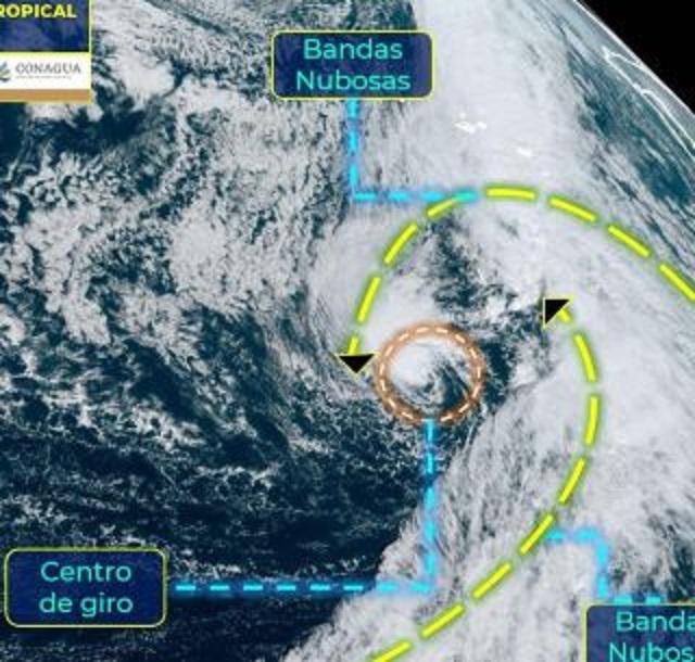 El ciclón tropical 'Theta' provocará en Canarias vientos de fuerza 7 a 8 con rachas de hasta 80 kilómetros por hora (km/h) en zonas altas de La Palma y Tenerife