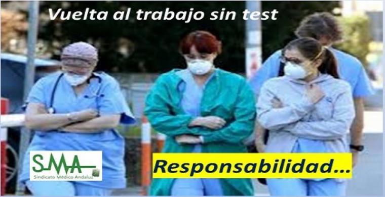 CSIF solicita las pruebas diagnósticas de Covid 19 a los cerca de 10.000 trabajadores de la Sanidad almeriense para detectar el personal asintomático