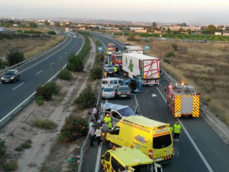 El año 2019 acabó con un total con 34 personas muertas en las carreteras interurbanas de la Región de Murcia, un 24 por ciento menos que en 2018