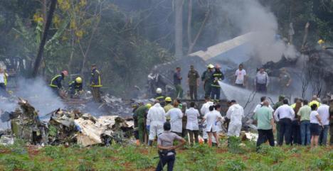 108 muertos en un accidente de un Boing 737 en La Habana