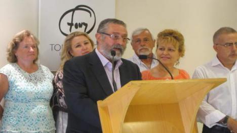 FRANCISCO TORRECILLAS SE JACTA DE LA TORPEZA DE ADELA SEGURA, RODRIGO SÁNCHEZ Y DEL SECRETARIO GENERAL DE LOS SOCIALISTAS, SÁNCHEZ TERUEL