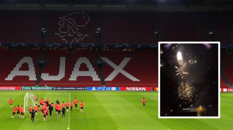 Cuatro aficionados del Ajax detenidos en el hotel de concentración del Real Madrid