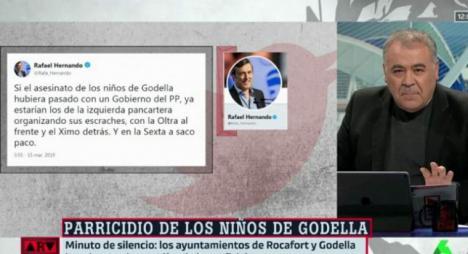 La bajeza moral de Rafael Hernando que no sorprende a nadie