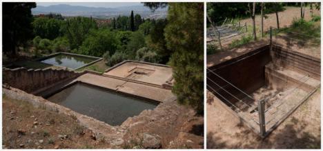 Al descubierto en Granada un palacio nazarí en el Albercón del Moro