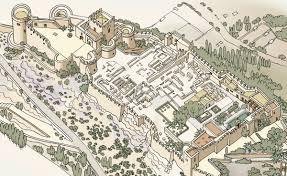 La Alcazaba de Almería fue la fortaleza más grande de España.