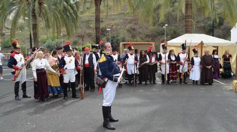 Algarrobo revive la fallida quema del pueblo durante la Guerra de la Independencia