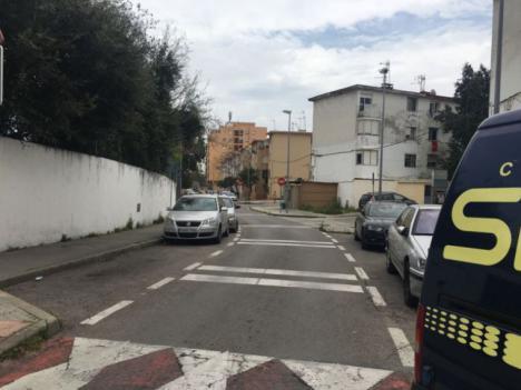 La Policía investiga un tiroteo junto a un colegio de Algeciras