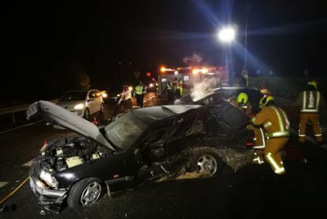 Fallece un conductor tras ser atropellado en la A-70