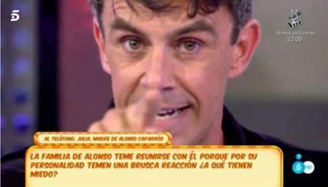 Alonso Caparrós pierde la poca verguenza que le quedaba y habla de su 'affaire' con Esther Arroyo.