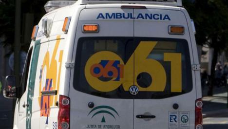 Cuatro heridos un accidente entre tres turismos en la A-364 a su paso por Écija