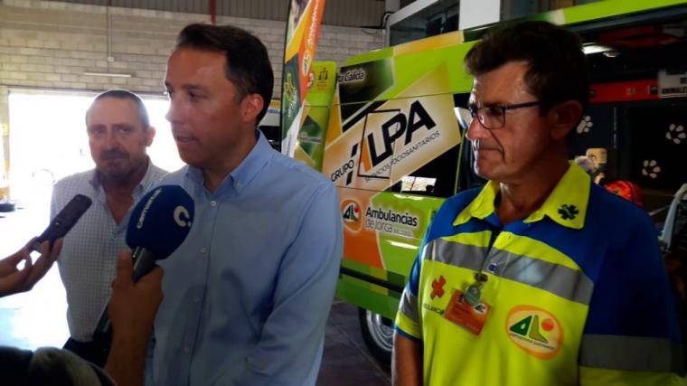 Fulgencio Gil ratifica 'el firme apoyo' del PP lorquino a la Cooperativa Ambulancias de Lorca y respalda los recursos en defensa de sus intereses
