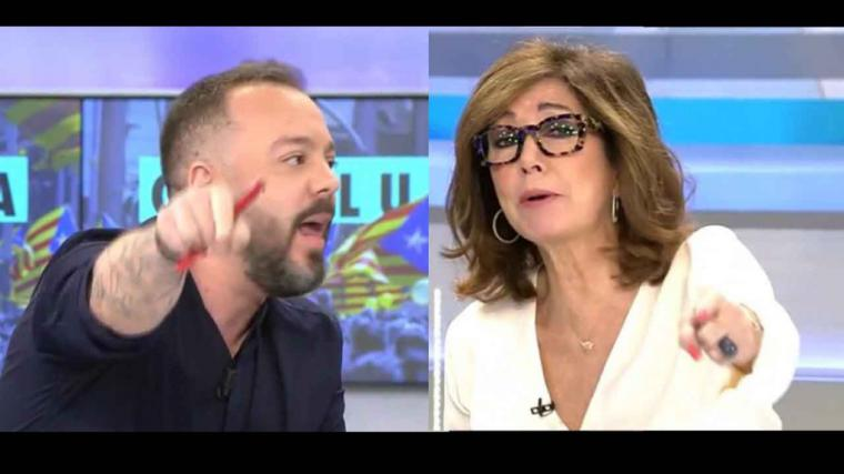 Ana Rosa Quintana, se deshace de Antonio Maestre por criticar a Ayuso