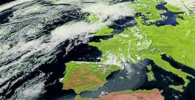 Mal tiempo. Llega a España el fin de semana la primera ciclogénesis explosiva, a la que se ha bautizado con el nombre de 'Ana'