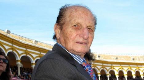 El rejoneador Ángel Peralta fallece a los 93 años a causa de un fallo cardíaco