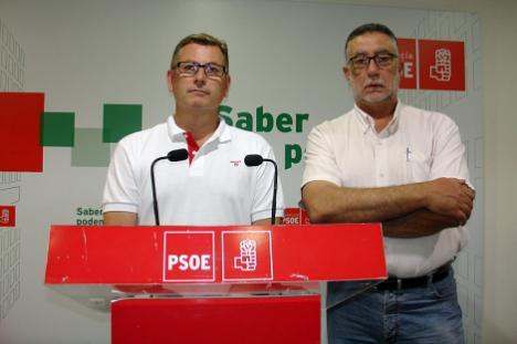 Antonio López Olmo, le disputará la Secretaría General del PSOE de Almería a Sánchez Teruel