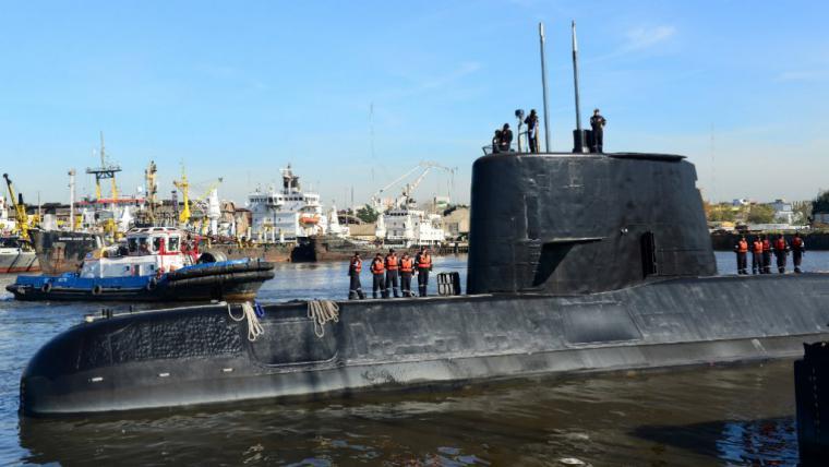 Denuncian a Macri por enviar al submarino ARA San Juan a espiar