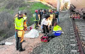 Muere una mujer atropellada por un tren