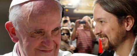 El Papa Francisco en la onda de Pablo Iglesias: Pide un salario universal y que se condonen deudas
