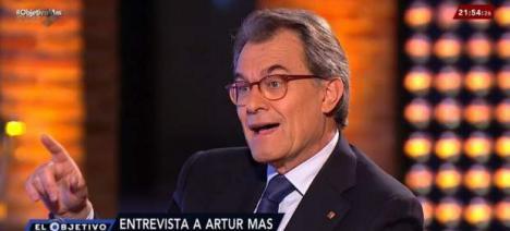 Artur Mas desaparece de puntillas cuando llega el caso Palau