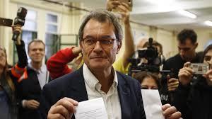 Artur Mas, descendiente de negreros y político cobarde.