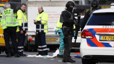 Última hora:El sospechoso ha sido arrestado, según la cadena holandesa NOS.