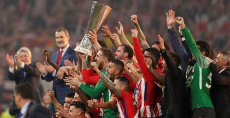 Griezmann pone en bandeja al Atlético su tercera Europa League