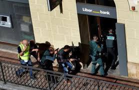 Atraco en una sucursal bancaria de Cangas de Onis