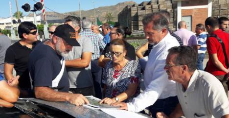 El PP exige al Ministerio de Fomento que asuma ya las peticiones de los afectados por el trazado del AVE en La Hoya y Tercia en vez de plantear obras parciales