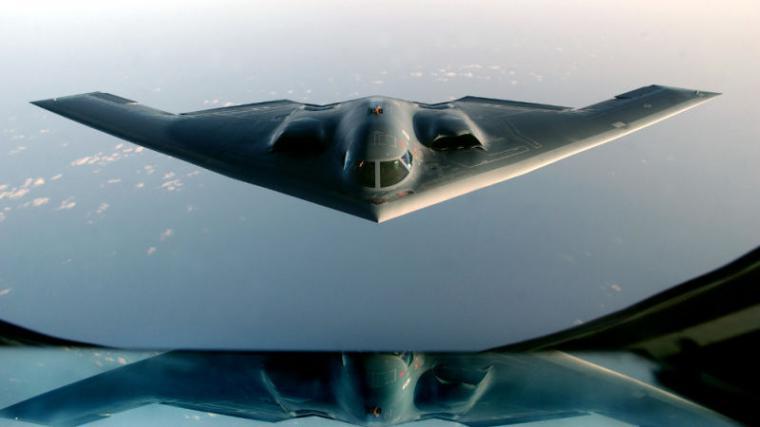 El Northrop Grumman B-2 'Spirit'